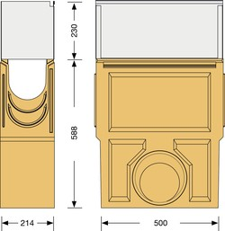 Image Accessories dimensions for Z-150 sump unit