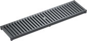 Cast-slotted grating HEELGUARD