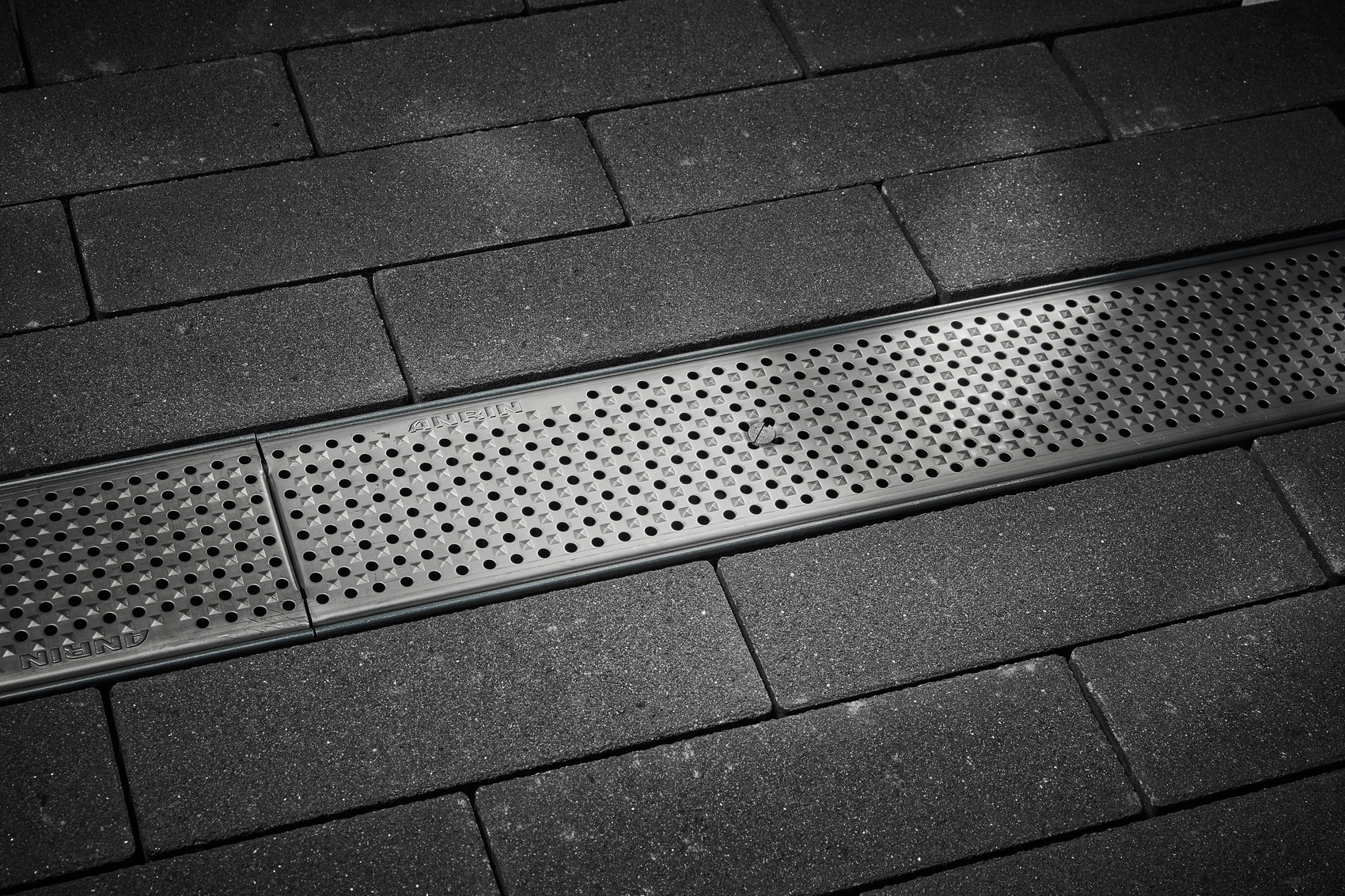 Perforated grating