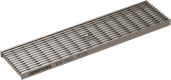 Longitudinal profile grating